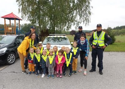 Obisk policistov